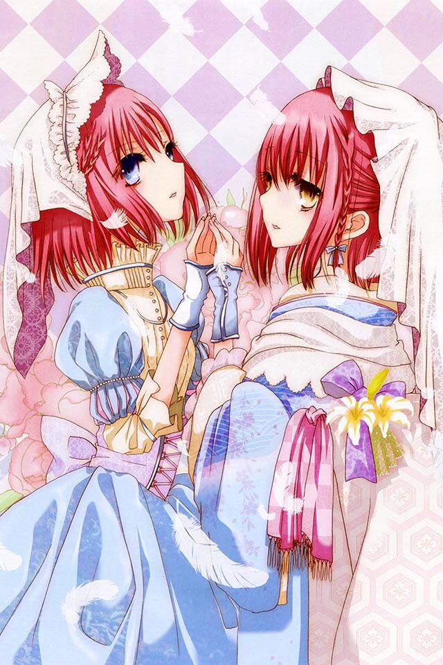 Anime twin sisters (With images) Hd anime wallpapers