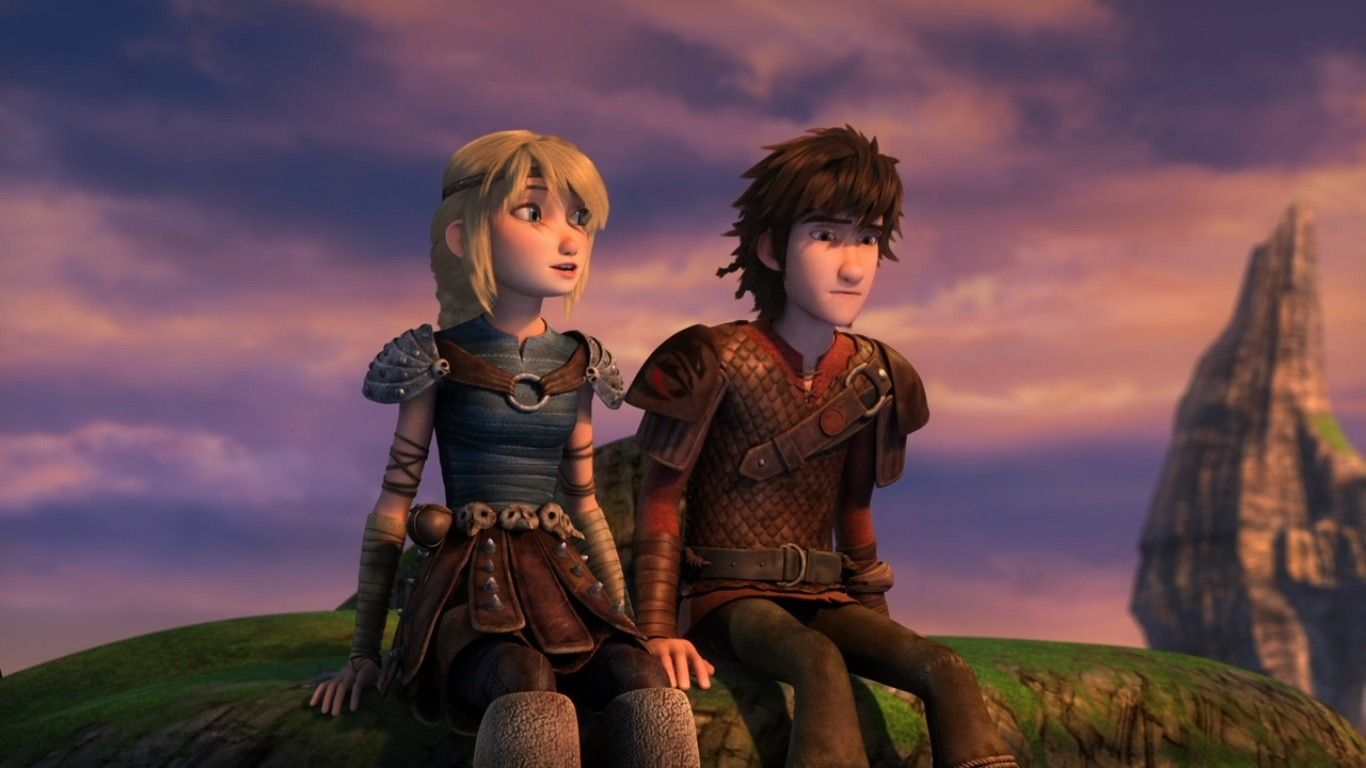 Astrid  How to Train Your Dragon Race to the Edge  How train