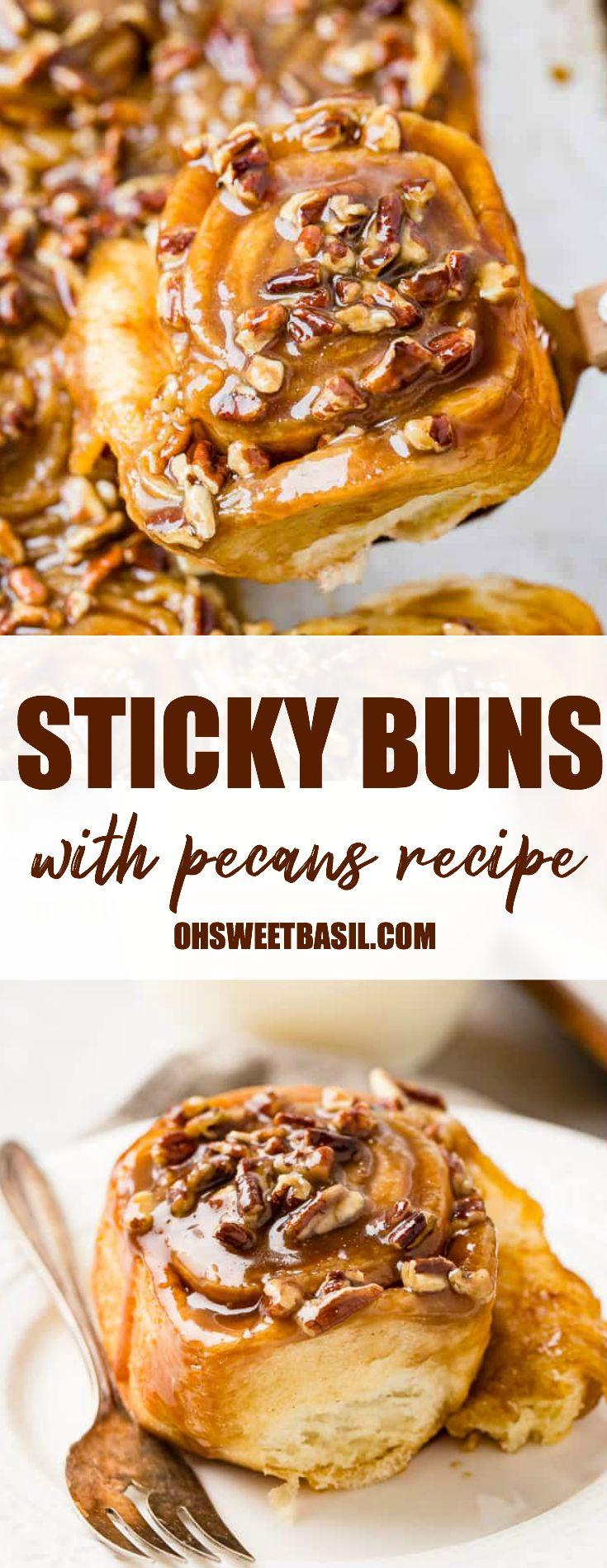 Pecan Sticky Buns #stickybuns
