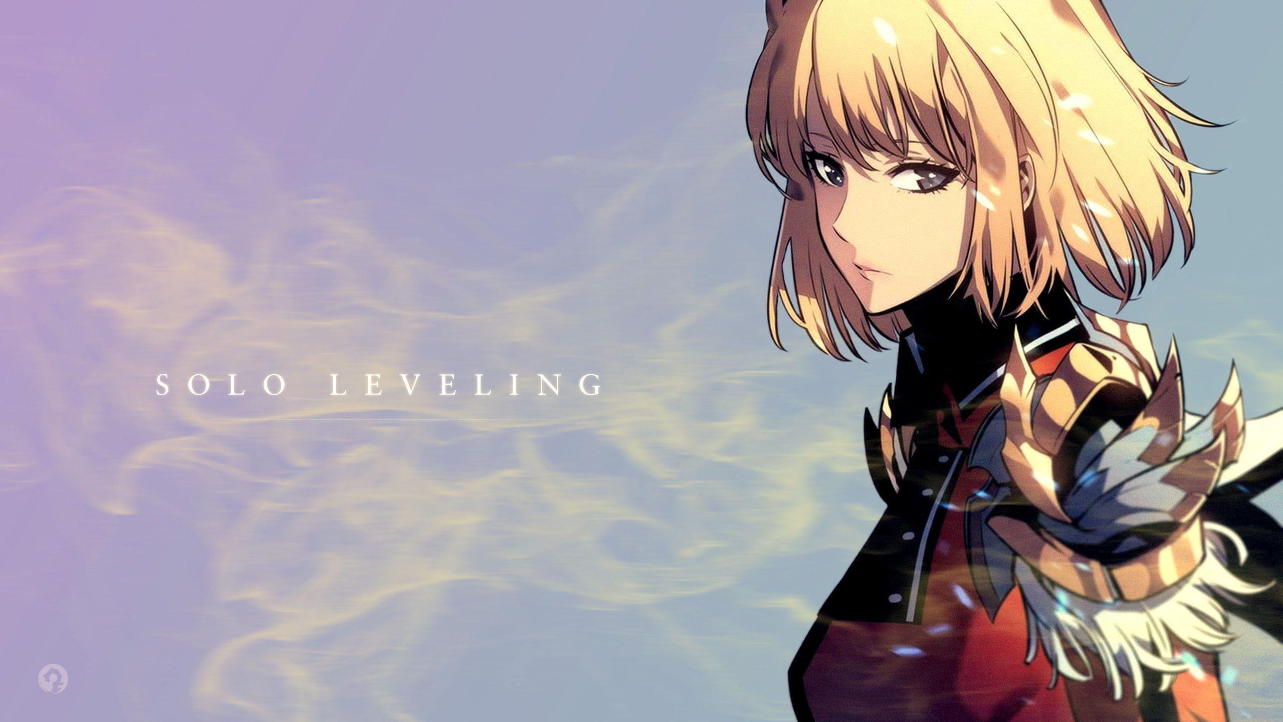 Anime Solo Leveling Cha Hae In 2k Wallpaper Hdwallpaper Desktop Animasi Gambar Anime Gambar