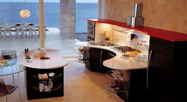 Cocinas Futuristas De Pequeno Tamano Estilos Hogar Y Vida - Cocinas-futuristas