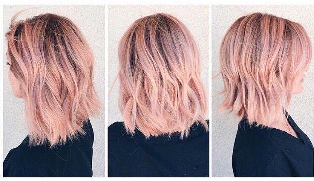 20+ Rose gold blonde haare 2021 ideen
