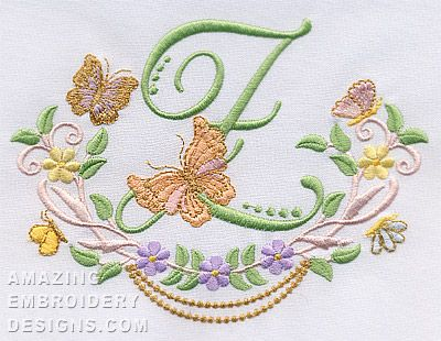 Amazing Embroidery Designs Embroideryapplique Fonts Pinterest