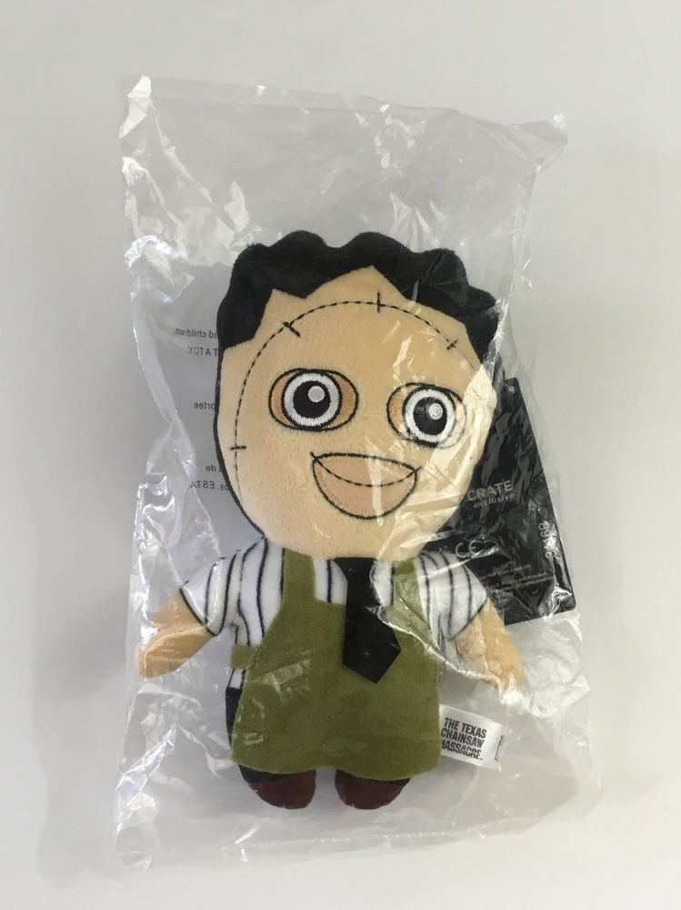 "Loot Crate Exclusive Phunny Leatherface Plush 8"" Texas Chainsaw Massacre"