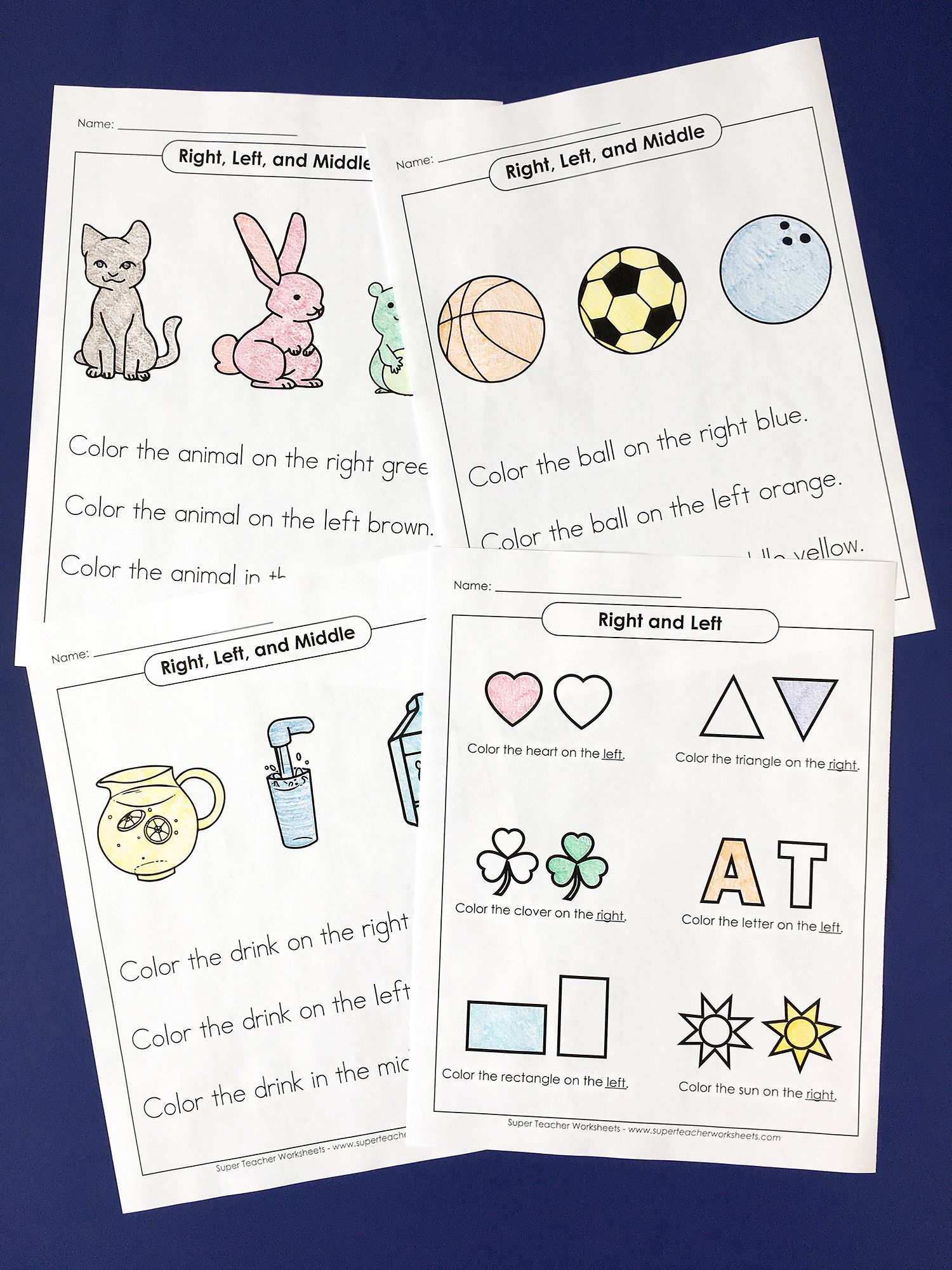 Did you know Super Teacher Worksheets has activities for preschool ...