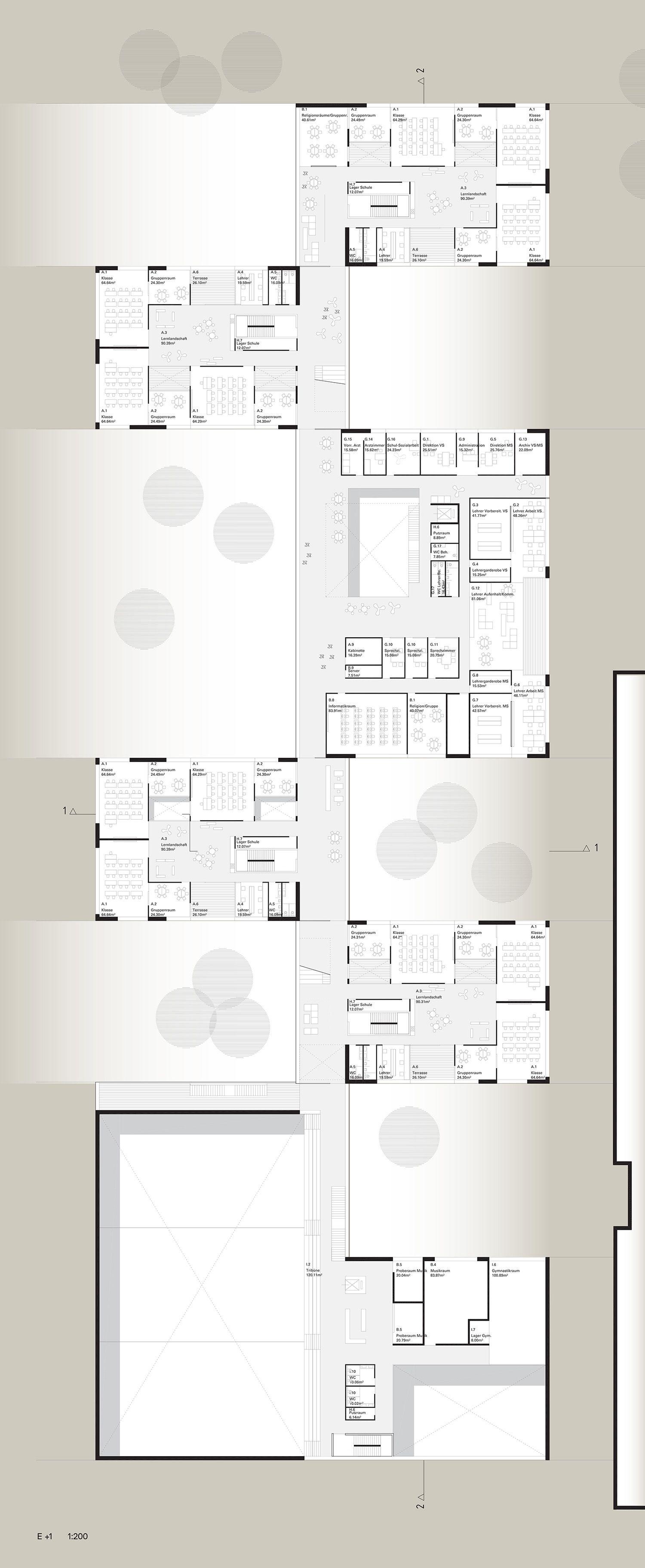 2. Preis E +1, © SWAP Architekten (mit Bildern