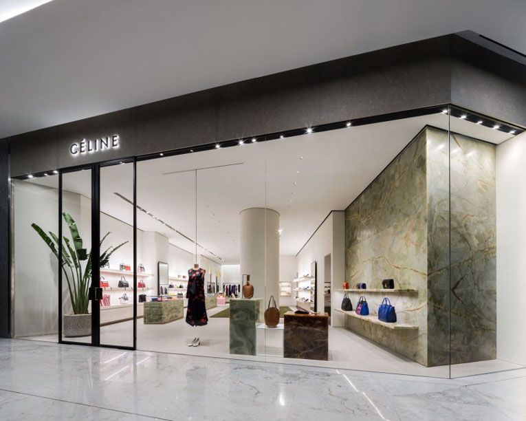 Bangkok c line store opening french fashion outlets for Retail store interior design