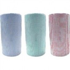"""WIPES ALL PURPOSE BLUE ROLL 30CM X 50CM X 85PCE/ROLL X 6/CTN $71.36 Wipes can be used to clean up quick spills or dirty areas in a flash. Affordable and more sanitary than cloths that can harbor germs, it""""s a smart move that will offer the peace of mind knowing areas are sanitized, safe and clean."""