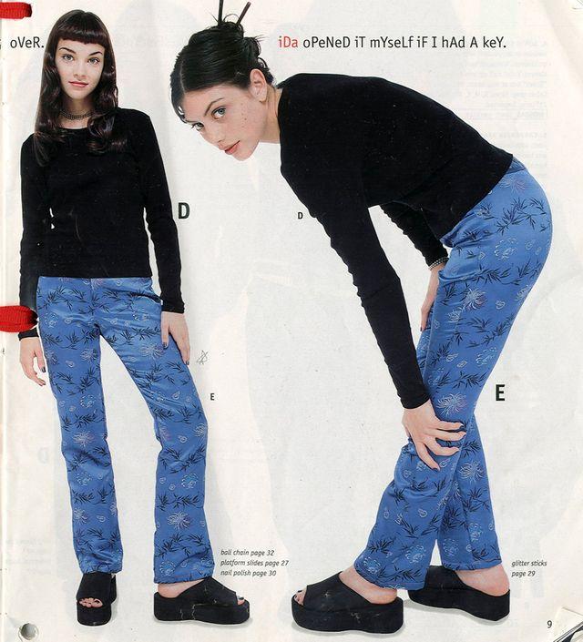 66/69 | late 90s clothing catalogs | VFILES | Delia's ... Late 90s Fashion