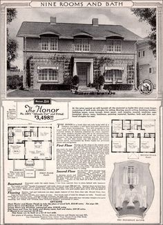 The Honor 1923 sleeping porch extra bedeooms pantry more