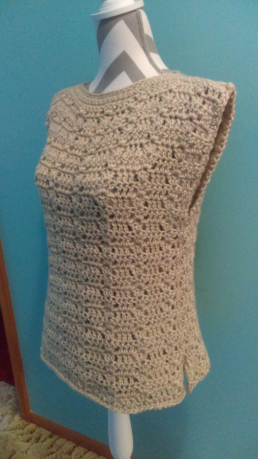 Peacock Summer Shell By Emi Harrington - Free Crochet Pattern ...
