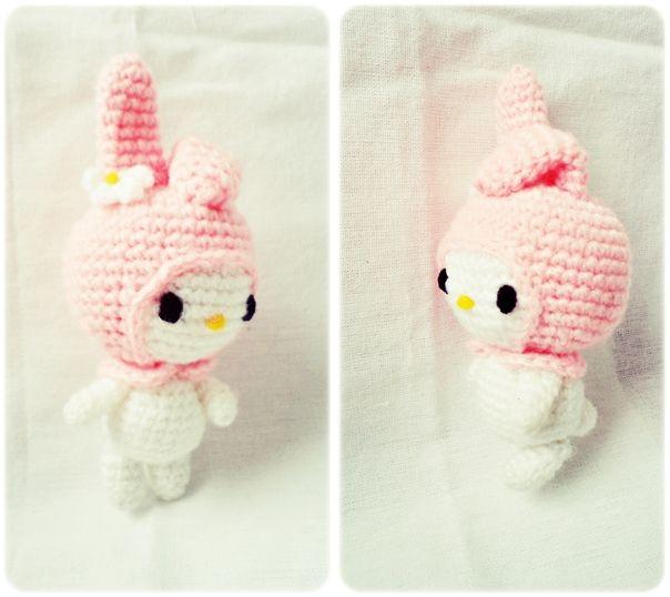 Amigurumi My Melody Sanrio - FREE Crochet Pattern / Tutorial | Hello ...