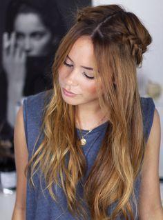 Wiesn Ready Braided Hair Crown Zopffrisuren Pinterest Frisur