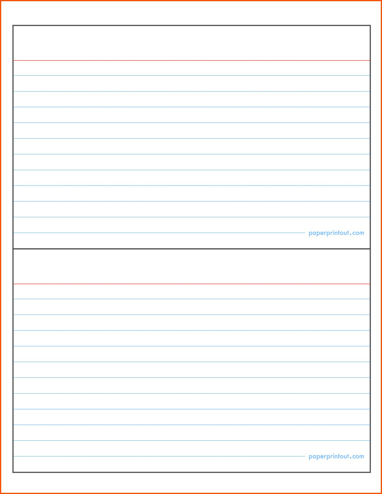 002 template ideas note card word index cards 127998 with