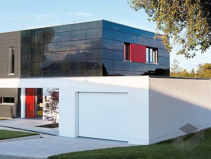 e 20 147 1 sch ner wohnen von schw rerhaus cubus haus flachdach traumhaus pinterest. Black Bedroom Furniture Sets. Home Design Ideas