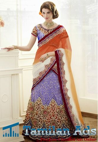 Designer Lehenga Choli Online Shopping at Desibutik.com - Tamilan Ads