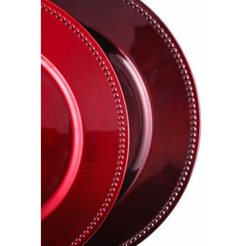 Burgundy Charger Plates BULK Wholesale Wedding Supplies Discount Favors Party And Bulk Event