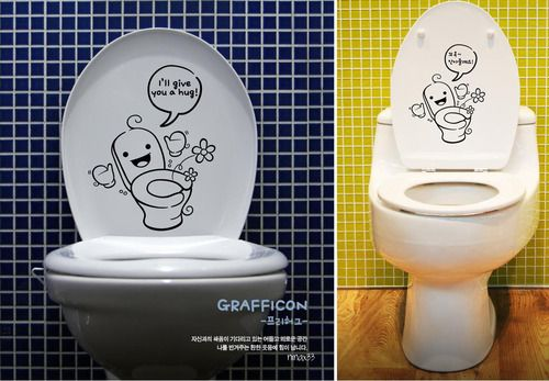 Best toilet seat cover in the world ha Pinterest Funky