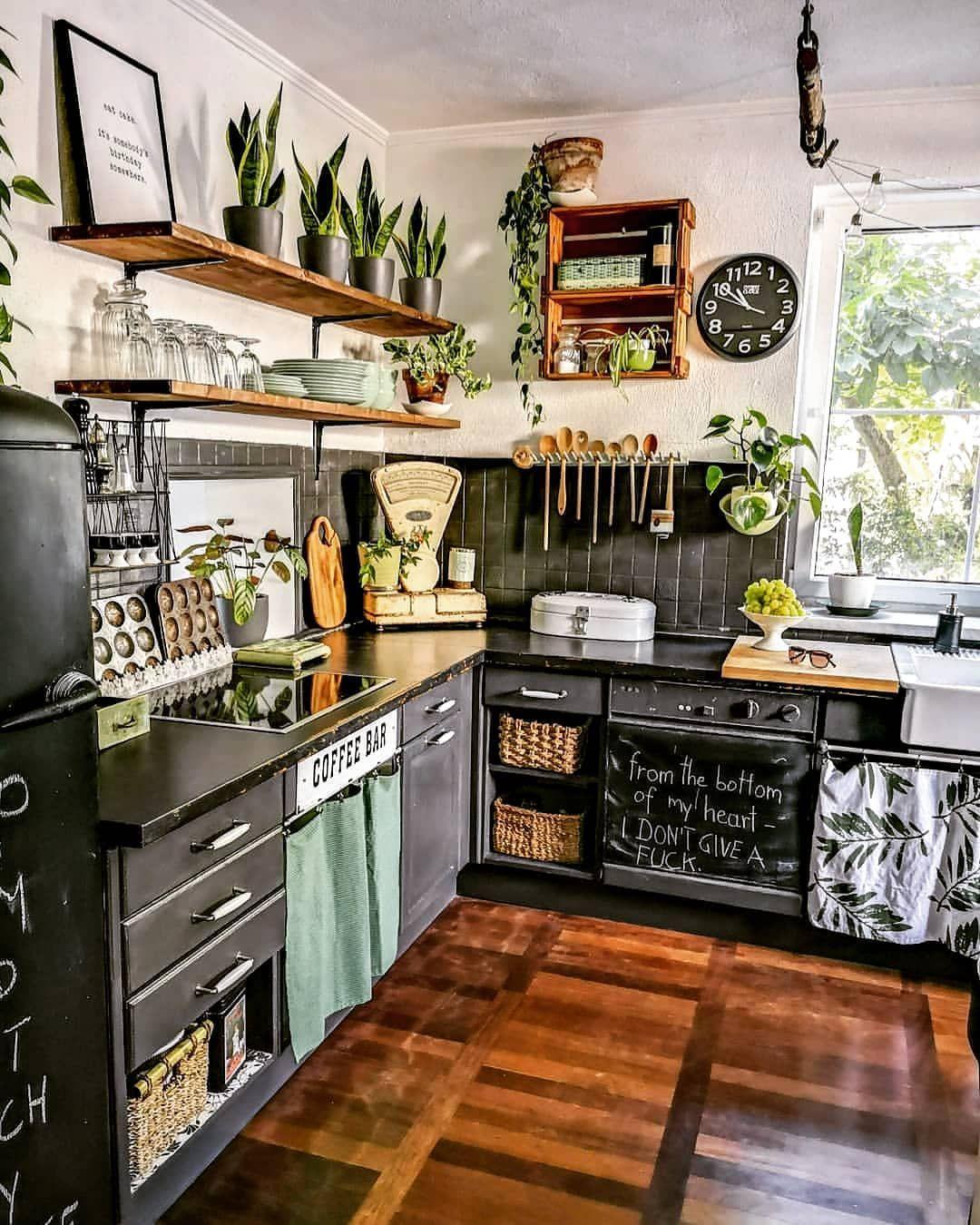 top ideas to get boho style kitchen home kitchens kitchen design interior design kitchen on kitchen decor hippie id=47495