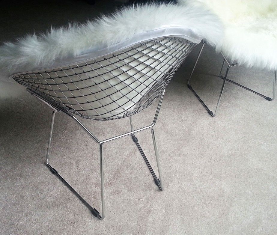 Bertoia Diamond Wire Chair Cover Only Ultimate Sheepskin