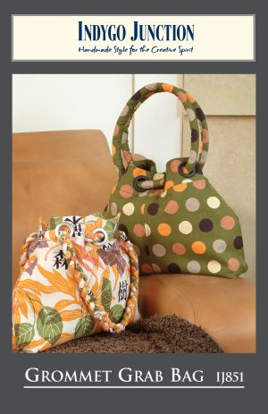 Download Grommet Grab Bag Sewing Pattern | Featured Products | YouCanMakeThis.com