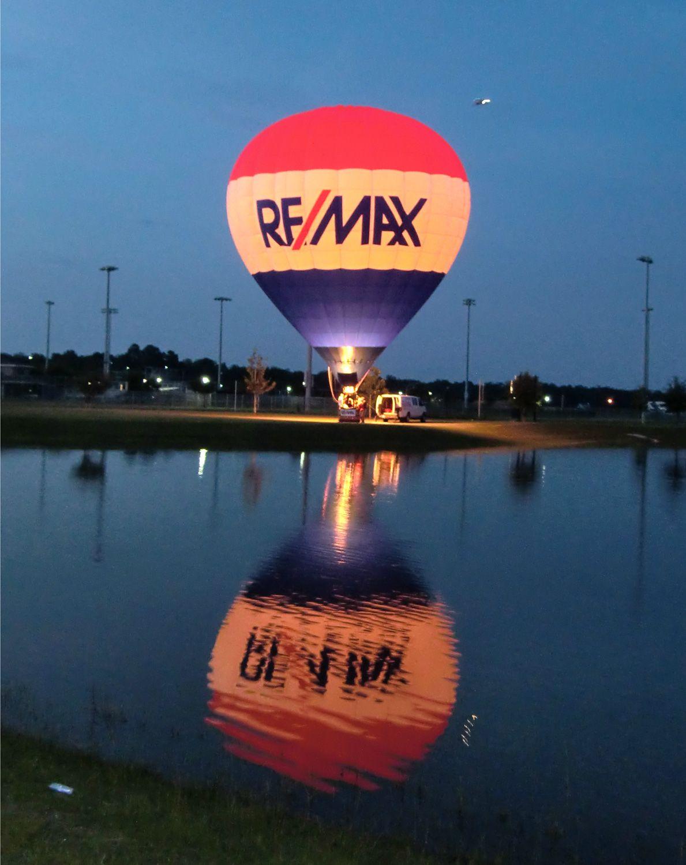 The Re/Max balloon at the Gulf Coast Hot Air Balloon