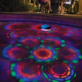 Disco Light Designed To Create Underwater Light Show In