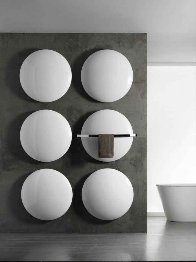 saturn moon antrax heizkörper badezimmer handtuchwärmer modern ... - Heizkorper Modern Wohnzimmer
