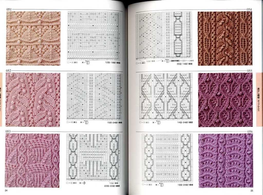 Japanese Knitting Books Knitting Pattern Book 250 Japanese Craft
