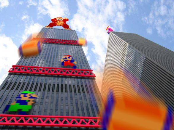 Retro Reality di Lee Vidal: Donkey Kong
