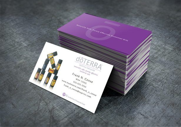 Doterra Business Card Template Resume And Cover Letter Ideas - Doterra business card template
