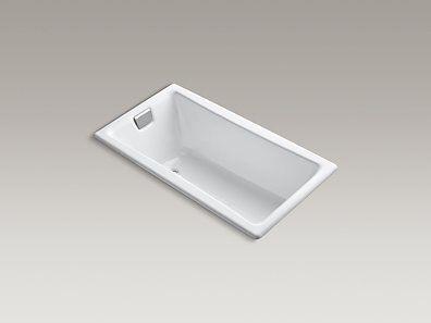 For Master Kohler K 850 0 Tea For Two 60 X 32 Drop In Bath