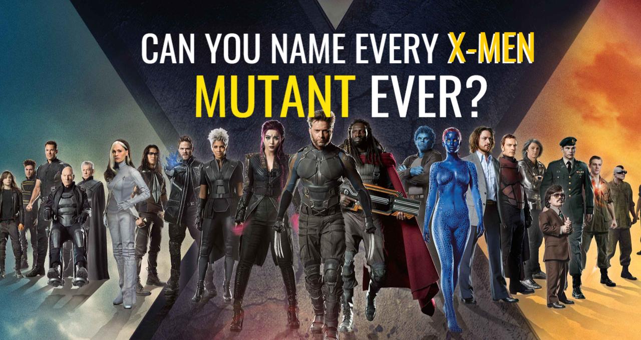 The X Men Trivia Quiz X Men Celebrity Quizzes Trivia Quiz