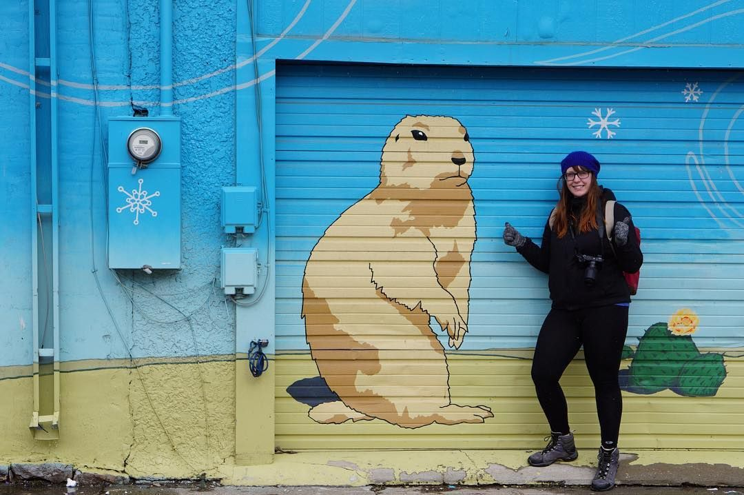 @Nerad and a #prairiedog. #streetart #a6000 #laramiewyoming by jaykubl