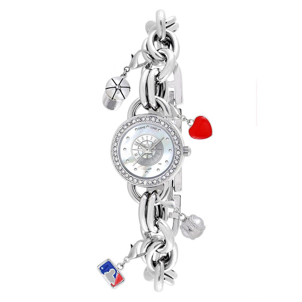 Seattle Mariners MLB Womens Charm Series Watch