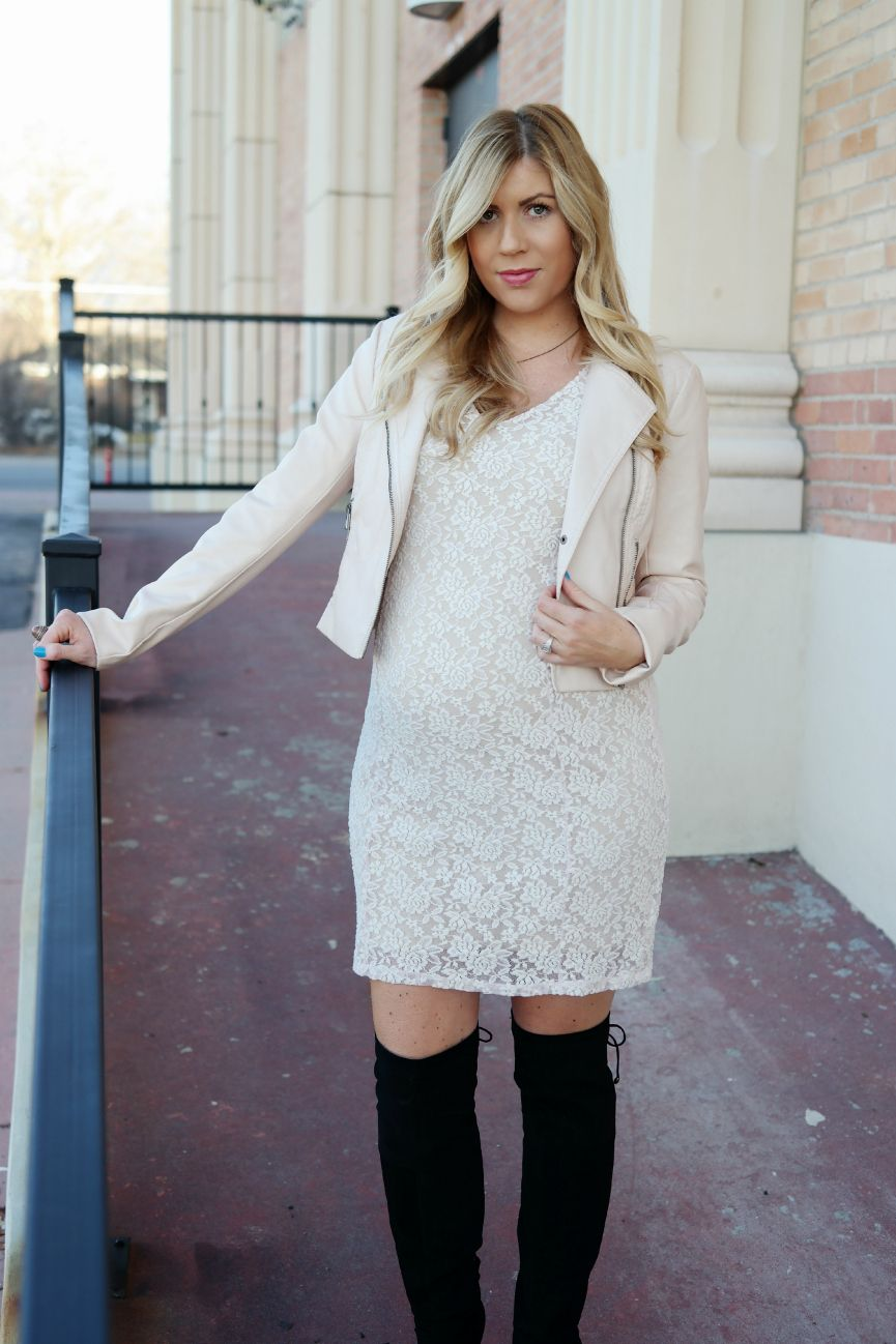 White lace maternity dress jessica simpson maternity dress white lace maternity dress jessica simpson maternity dress motherhood maternity pink leather jacket ombrellifo Images