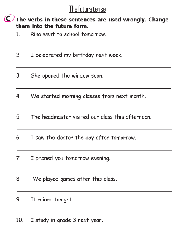 Grade 2 Grammar Lesson 13 Verbs - The past tense (3 ...
