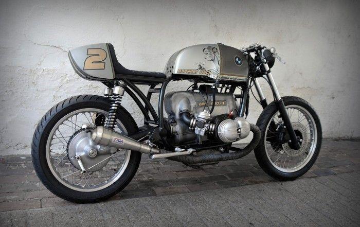 1973 BMW R80 - D-Lucks Custom Paint - The Bike Shed