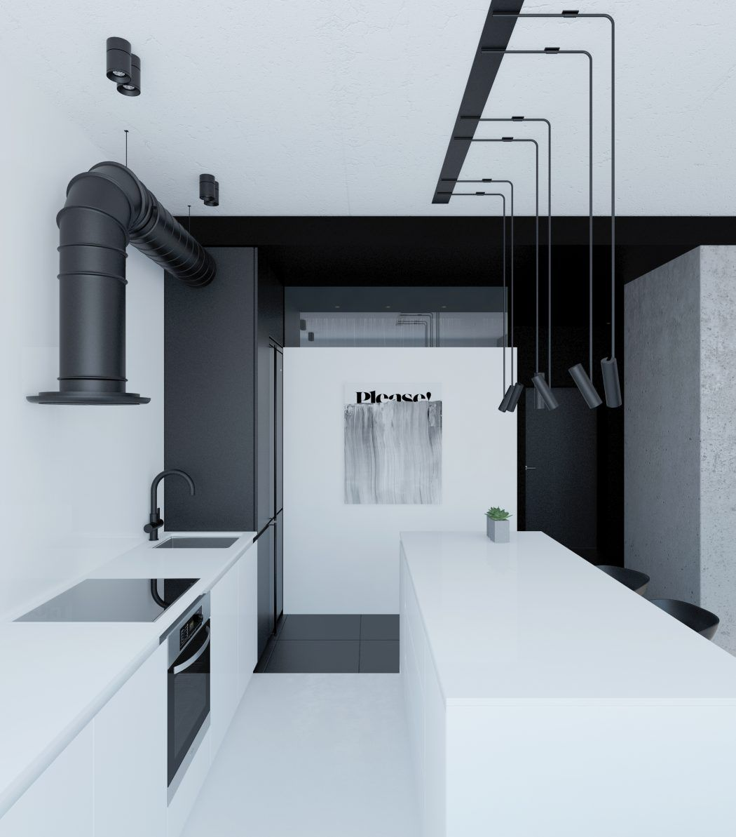 RiverS Apartment by Emil Dervish | Apartments, Rivers and Kitchens