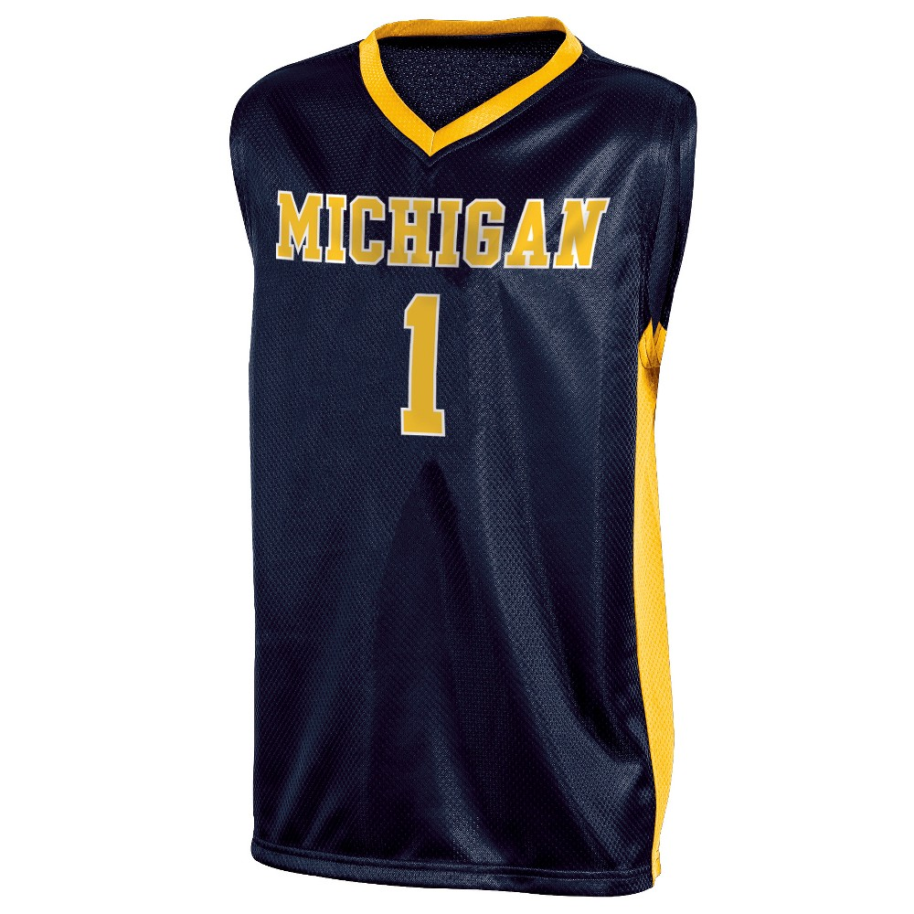 Michigan Wolverines Boys' Basketball Jersey M in 2020