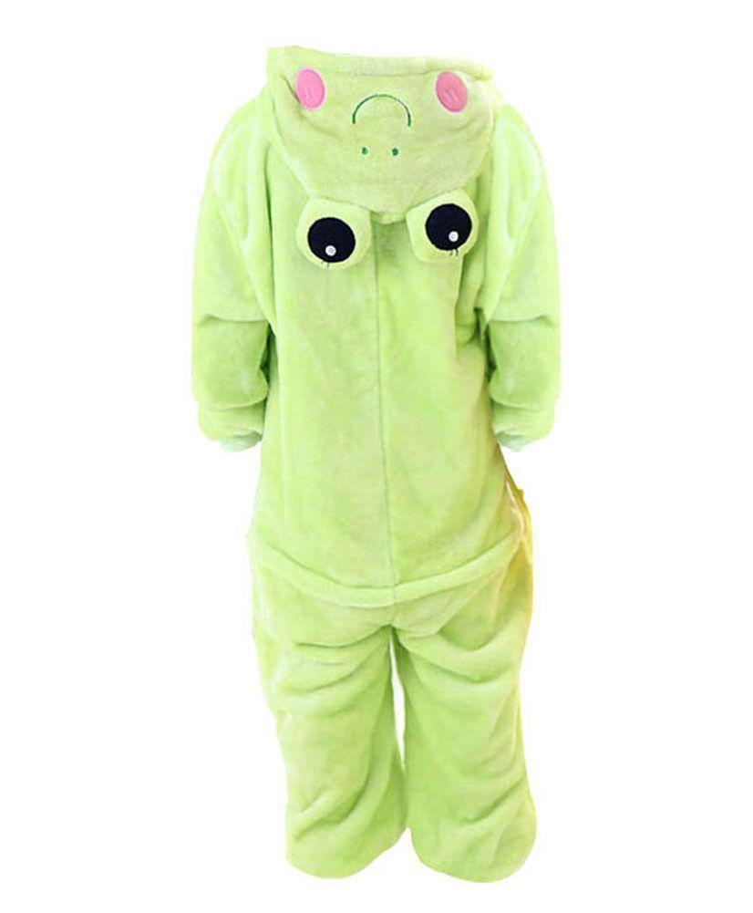Lovely Cartoon Animals Series Pajamas For Kids (105-115CM Height) Unisex/Frog