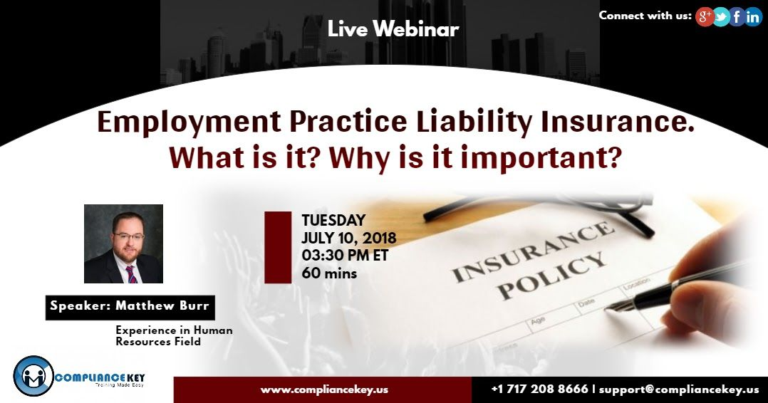 Employment practice liability insurance what is it