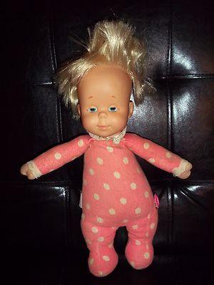 Vintage 1964 Mattel Talking Drowsy Baby Doll Pink White