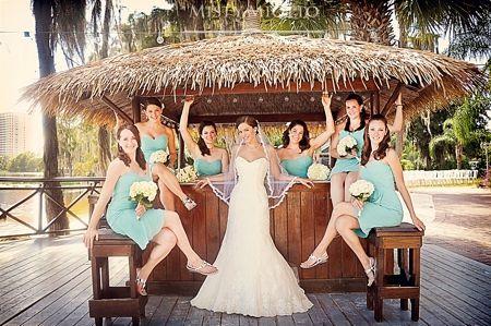 Beautiful Beach Wedding Photos At Paradise Cove In Orlando Florida