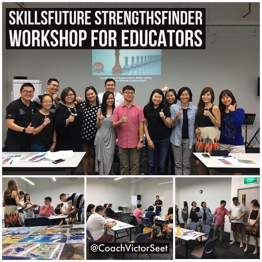 #Singapore #SkillsFuture #CliftonStrengths #Workshop For