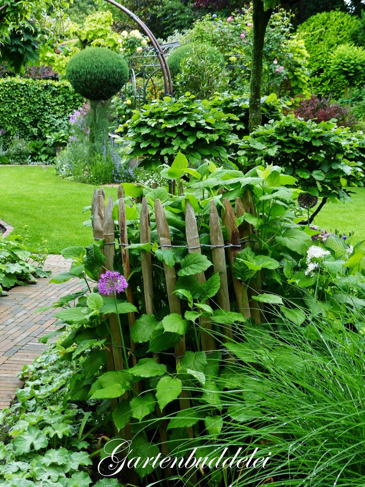 Gartenbuddelei Garten Deko Pinterest Garten Garten Ideen Und