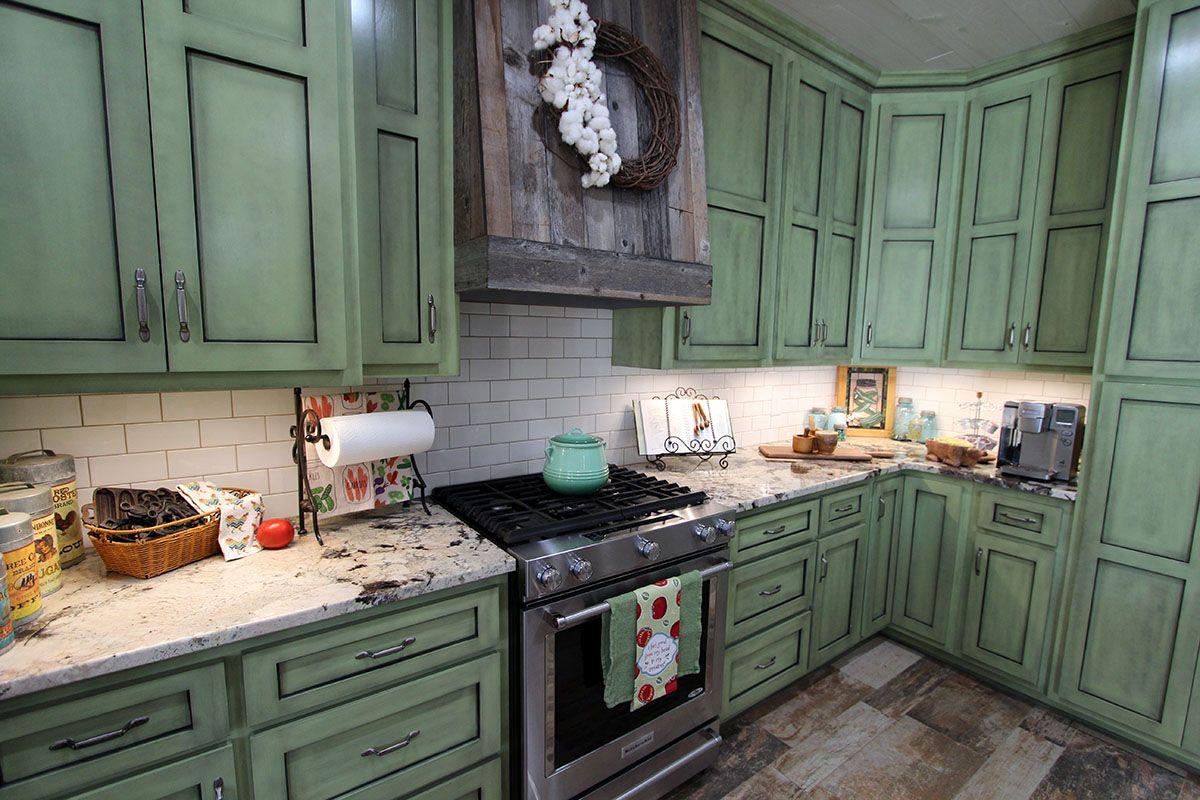 classic white subway tile backsplash smoky mountain timber tile floor in this farmhouse kitch on farmhouse kitchen tile floor id=88287