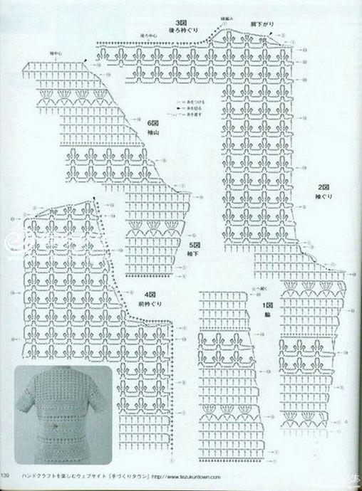 Pretty and feminine crochet cardigan pattern diagram haken pretty and feminine crochet cardigan pattern diagram more patterns like this ccuart Choice Image