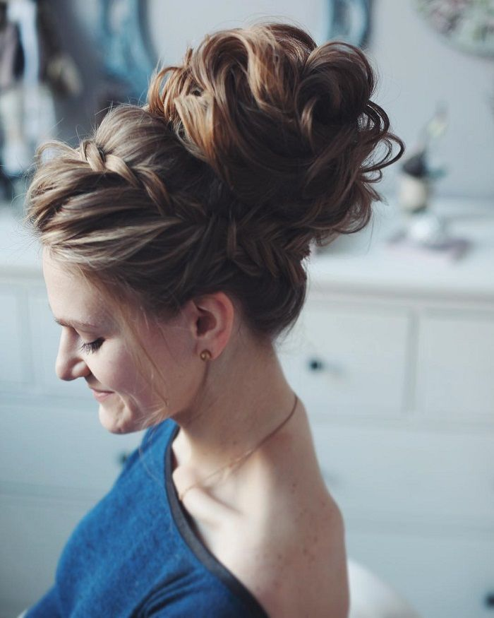 Wedding Updos With Braids Modern Take On