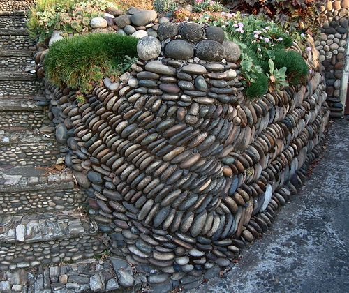 how to make styrofoam rock wall look like stone